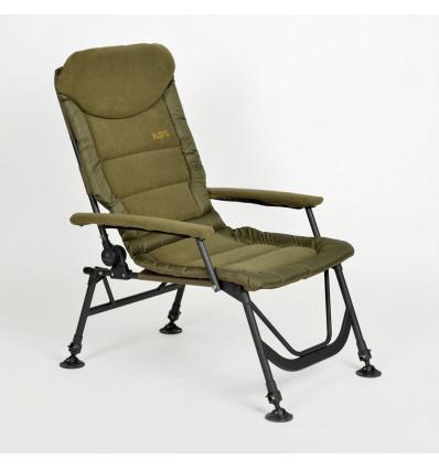 Карповое кресло с подлокотниками Elektrostatyk FK7 SUPRA
