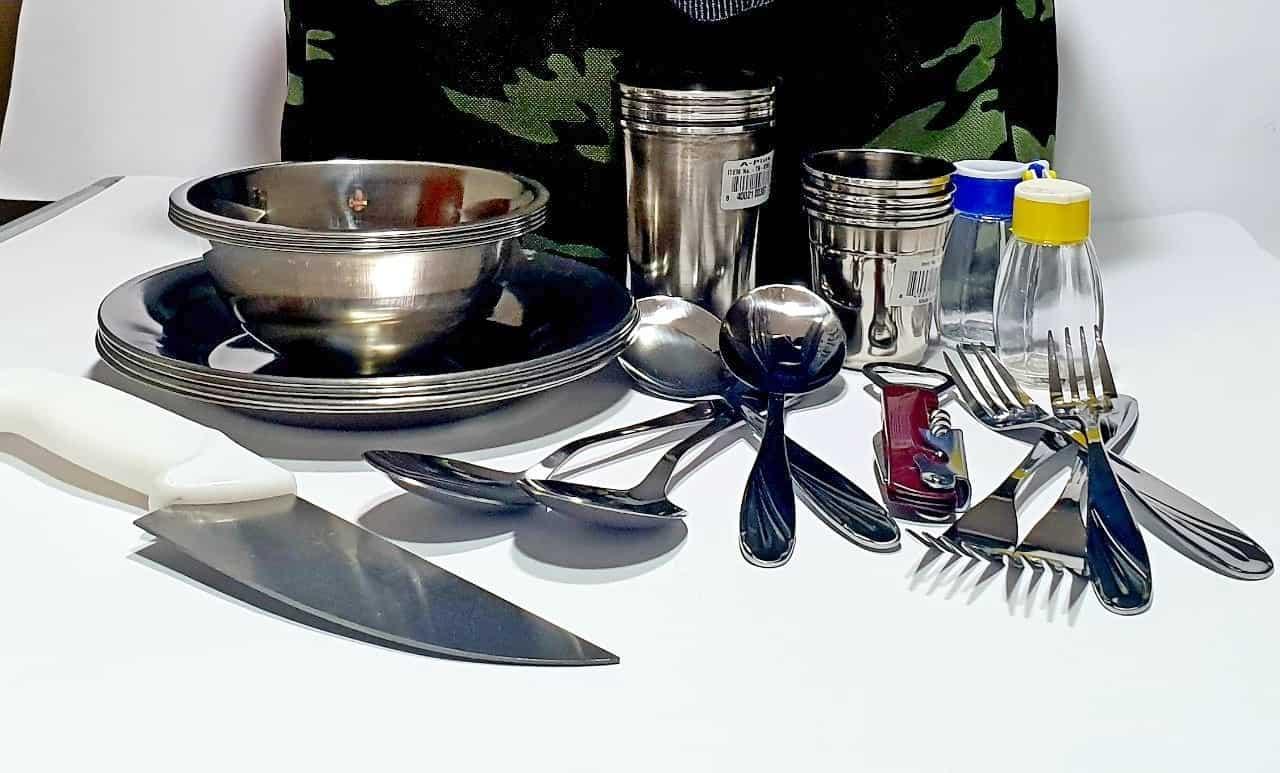 Наор посуды для рыбалки