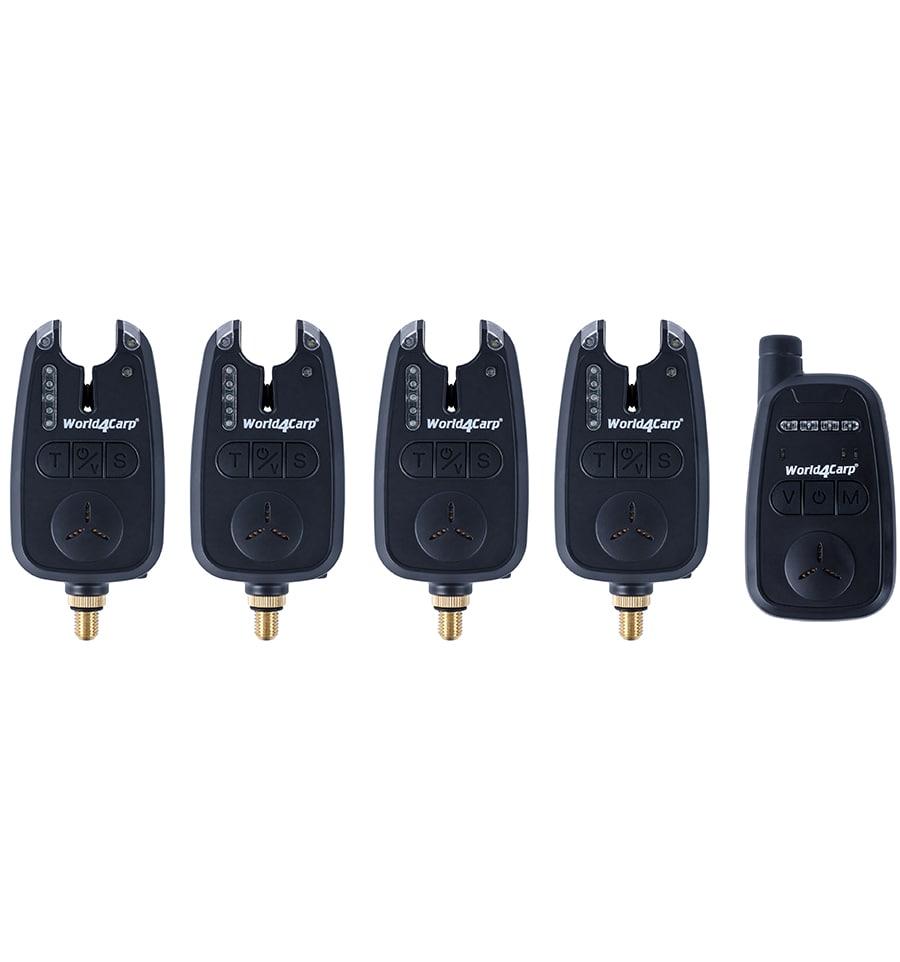 Набор сигнализаторов с пейджером World4Carp FA212-4